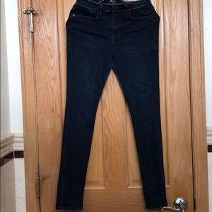 BDG high-rise ankle cigarette skinny jeans